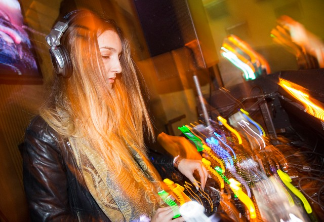 Nala DJs at School Night, part of Red Bull Sound Select Presents 30 Days in LA, at Bardot, in Los Angeles, CA, USA on 16 November, 2015.